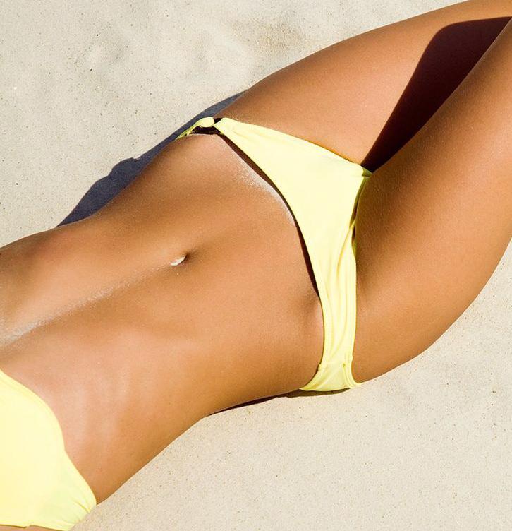 Bikini shave video — 1